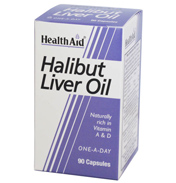HealthAid Super Halibut Liver Oil 90 capsules