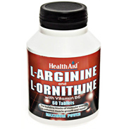 L-Arginine with L-Ornithine