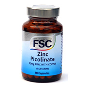 FSC Zinc Picolinate with Copper 90 Capsules