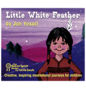 Little White Feather CD by Jan Yoxall