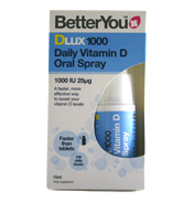 DLux1000 Daily Vitamin D Oral Spray 1000 IU 25mg