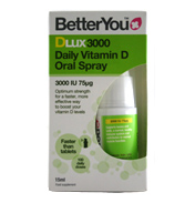 Better You DLux3000 Daily Vitamin D Oral spray…