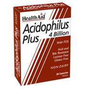 HealthAid Acidophilus Plus 4 Billion 60 Vegicaps