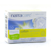 Natracare Organic Non-Applicator Tampons Regular…