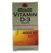 Natures Answer Vitamin D3 Drops 15ml