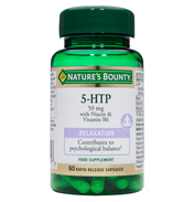 Nature's Bounty 5-HTP 50mg with Niacin &…