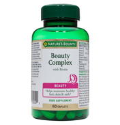 Nature's Bounty Beauty Complex with Biotin 60…