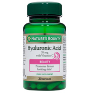 Nature's Bounty Hyaluronic Acid 20mg with…