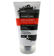 Activated Charcoal Deep Cleansing Face Scrub