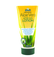 Organic Aloe Vera After Sun Lotion