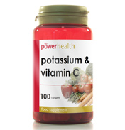 Power Health Potassium 200mg + Vitamin C 100…