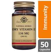 Dry Vitamin E 134mg Vegetable Capsules