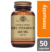 Dry Vitamin E 268mg Softgels