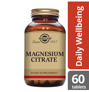 Solgar Magnesium Citrate 200mg 120 TABLETS