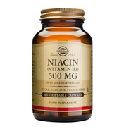 Solgar Niacin 500mg 100 VEGETABLE CAPSULES