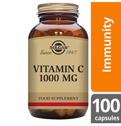Solgar Vitamin C 1000mg 100 Vegetable CAPSULES
